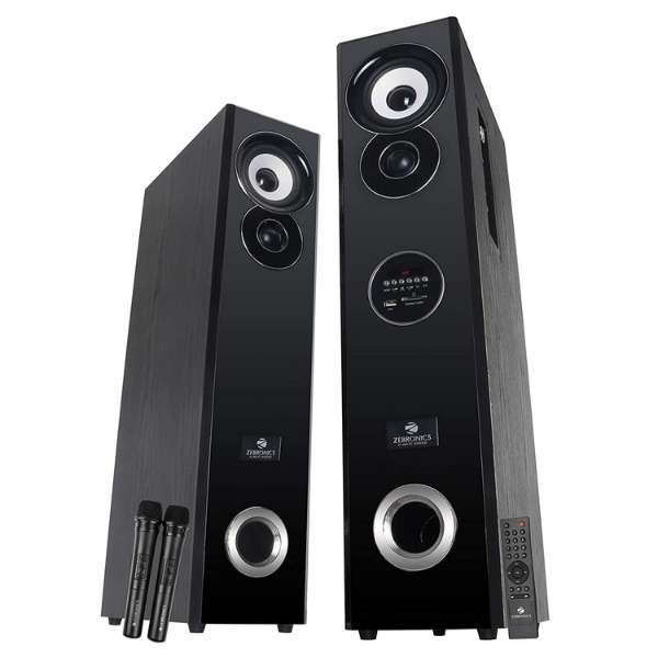 Zebronics ZEB-BT7800 RUCFO Tower Speaker with Bluetooth Supporting USB, SD Card, FM, AUX and Optical Input