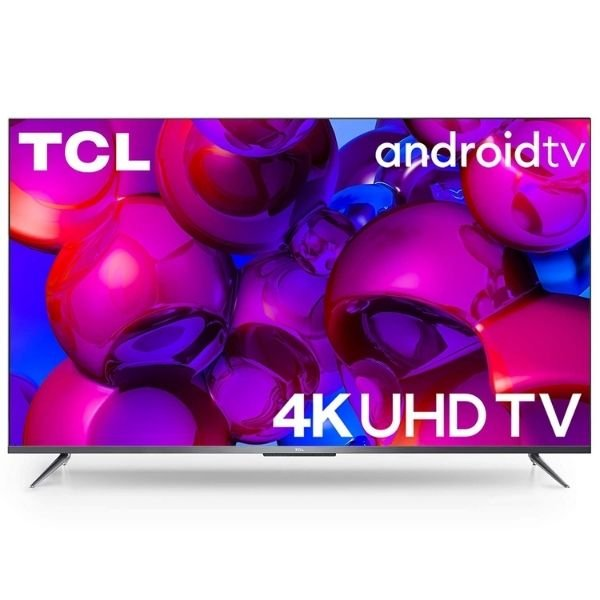 TCL 108 cm (43 inches)  AI 4K Ultra HD Certified Android Smart LED TV 43P715 (Sliver)
