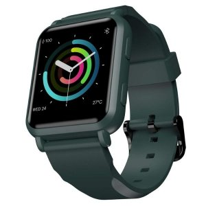 Noise ColorFit NAV Smart Watch with Built-in GPS and High Resolution Display (Camo Green)