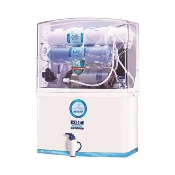 Kent PRIDE(11004) 8 L RO + UF Water Purifier  (White & Blue)