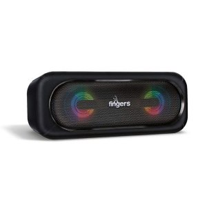 FINGERS SuperLit Portable Speaker with TWS Technology & RGB Lights