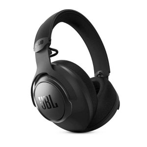 JBL Club One Wireless Over-Ear True Adaptive Noise Cancelling Headphones with 40 mm Hi-Res Orange Graphene Drivers and JBL Pro Quality Sound,45 Hours Playtime, Dual mic, Ambient Aware & Talkthru
