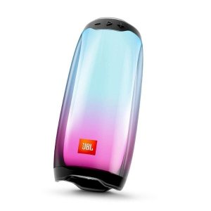JBL Pulse 4 Portable Bluetooth Speaker with 360-Degree LED Lightshow,12Hours Playtime, PartyBoost & IPX7 Waterproof(Black)