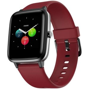 Noise Colorfit Pro 2 Full Touch Control Smart Watch (with Cloudbased Watch Faces) - Cherry Red