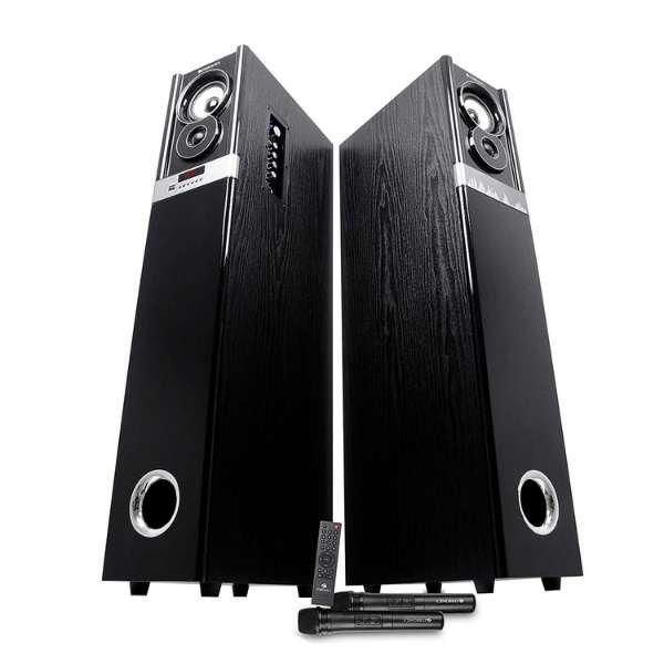 Zebronics ZEB-BT11400RUCFO 2.0 Tower Speaker Supporting Bluetooth,pendrive, sd Card, FM and with Optical Input