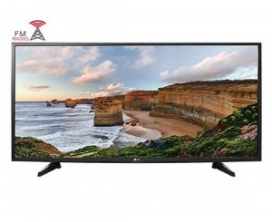 LG 109 cm (43 inch) Full HD LED Smart TV (43LH518A, Black)