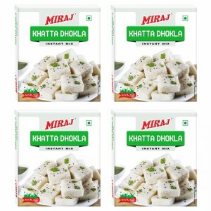 Miraj Khatta Dhokla Instant Mix pack of 4