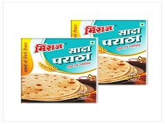 Plain Paratha Combo Pack(2x4 PCS)