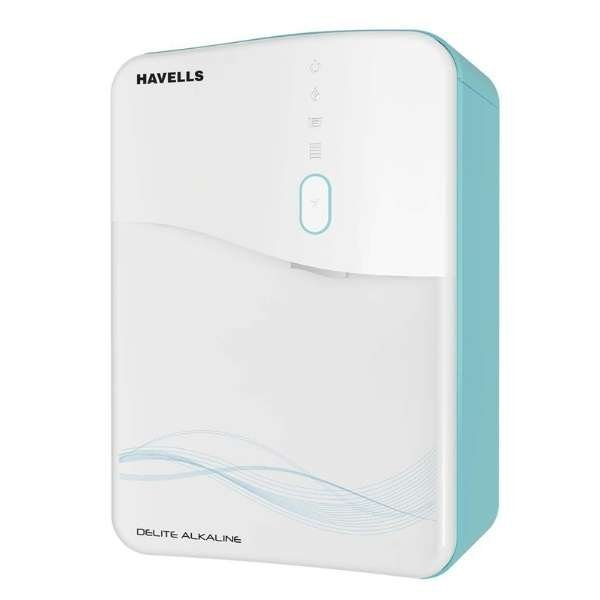 Havells Delite Alkaline RO+UV Water Purifier (Sky Blue-White)