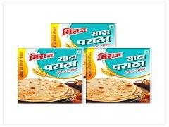Plain Paratha Combo Pack(3x4 PCS)