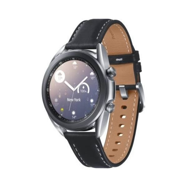 SAMSUNG Galaxy Watch 3 41 mm Smartwatch  (Black Strap, Regular)