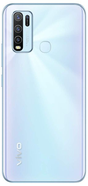 Vivo Y50 (Pearl White, 8GB RAM, 128GB Storage)