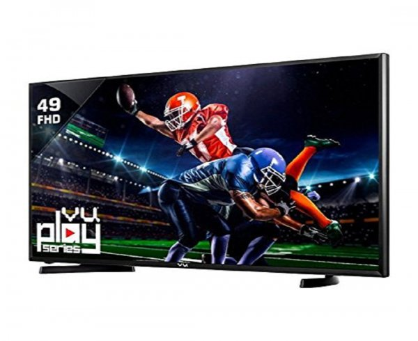 VU 124 cm (49 Inches) Full HD LED TV 49D6575 (Black)