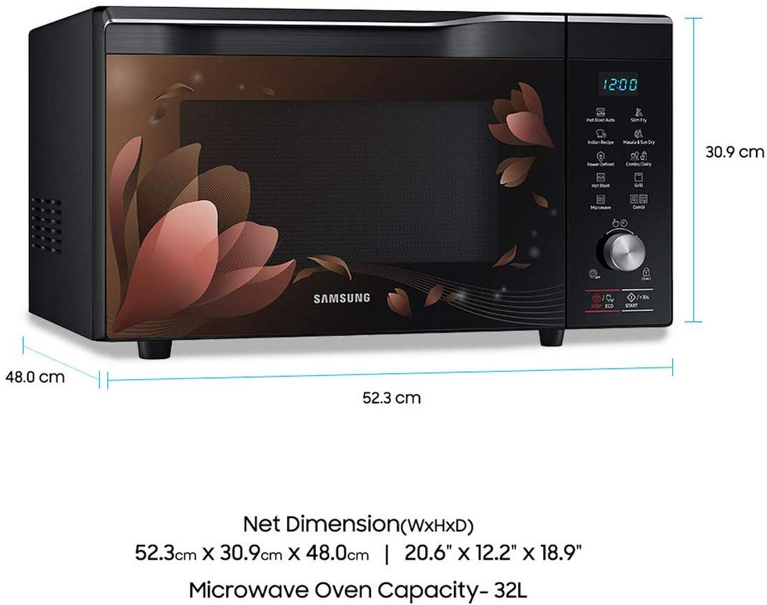 Samsung 32 L Convection Microwave Oven (MC32K7056CB/TL, Black)