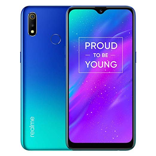 Realme 3 (Radiant Blue, 4GB RAM, 64GB Storage)