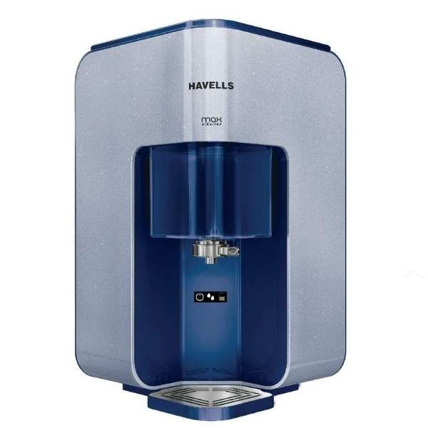 Havells max alkaline 7 L RO + UV Water Purifier  (BLUE/WHITE)