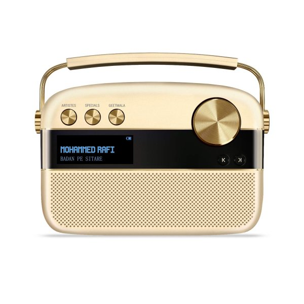 Saregama Carvaan Portable Digital Music Player ( Gold)