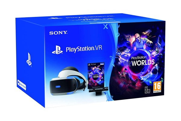 Sony PS VR V2 Camera Bundle (White)