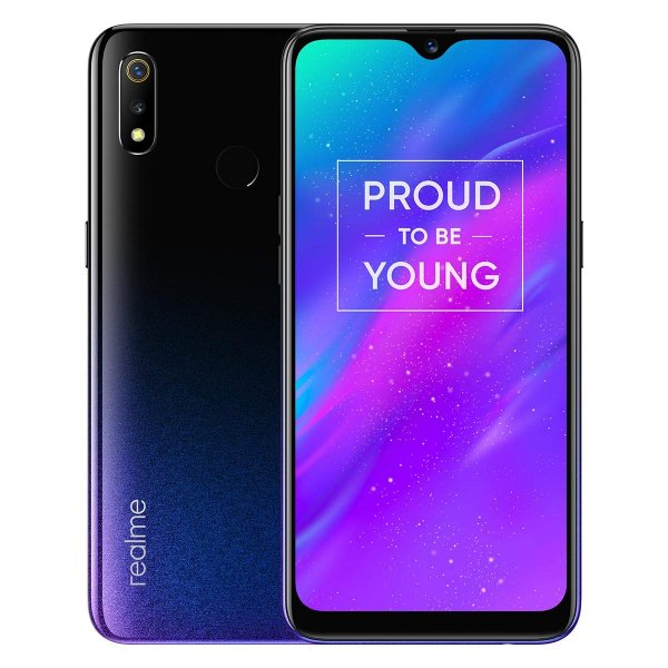 Realme 3 (Dynamic Black, 4GB RAM, 64GB Storage)
