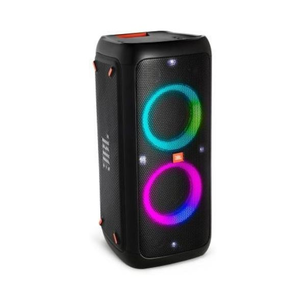JBL PartyBox 200 Powerful Wireless Speaker with Vivid Light Effects (Black)