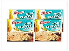 Plain Paratha Combo Pack(4x4 PCS)