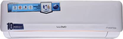 Lloyd 1.5 Ton 5 Star Split Inverter AC with PM 2.5 Filter - White  (LS18I52WBEL, Copper Condenser)