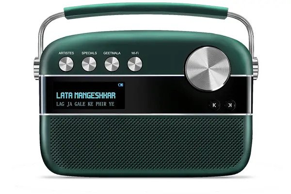 Saregama Carvaan 2.0 with WiFi, 5000 pre-loaded songs