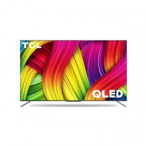 TCL 163.9 cm (65 inches) 4K Ultra HD Certified Android Smart QLED TV 65C715 (Metallic Black) (2020 Model)