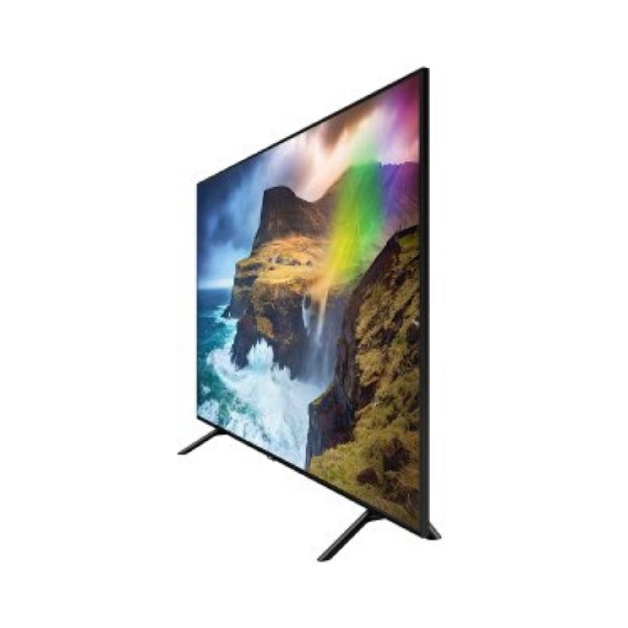 Samsung 138 cm (55 Inches) 4K QLED LED Smart TV QA55Q70RAKXXL (Black)