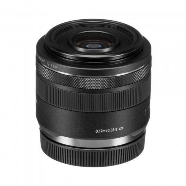 Canon RF 35mm f/1.8 IS Macro STM Lens, Black