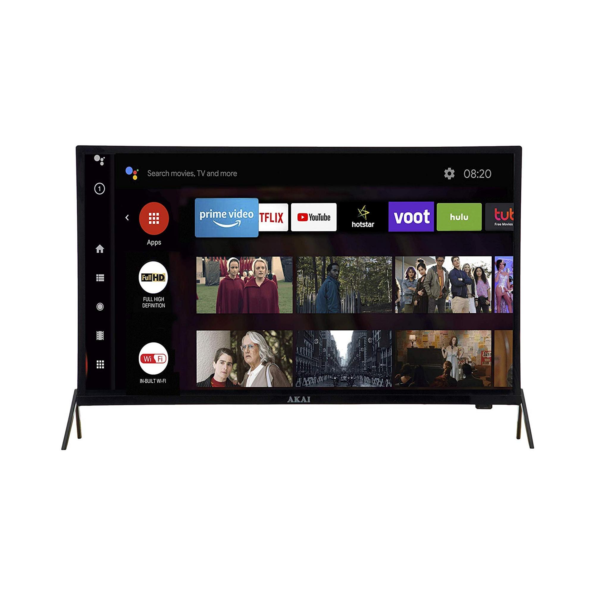 Akai 80 Cm 32 Inches Hd Ready Smart Led Tv Aklt32s Db18m