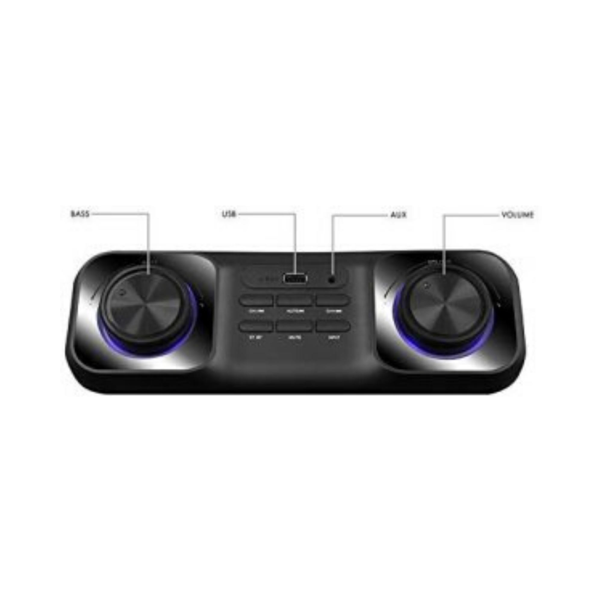 Zebronics Zeb- Space CAR 2.1 Multimeida Compact Design Speaker with Bluetooth connectivity and USB Input