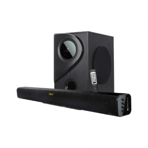 Zebronics Zeb-Juke Bar 5 2.1 Multimedia Sound Bar with Bluetooth Connectivity,USB Input and Built-in FM