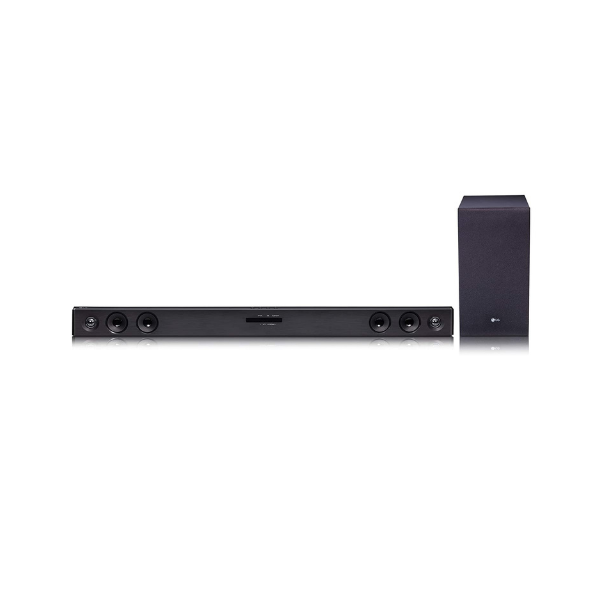 LG SJ3 2.1 Ch Sound Bar with Wireless Subwoofer (Black)