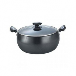 Prestige  Omega Deluxe Granite Sauce Pan With Lid