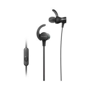 Sony MDR-XB510AS Extra Bass Sports in-Ear Headphones (Black)