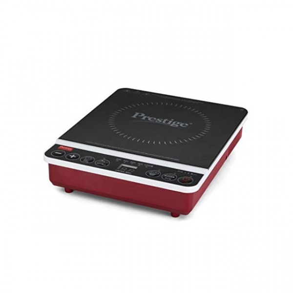 Prestige Travel Induction Cooktop - Red