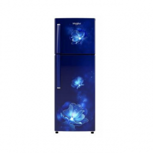 Whirlpool 245 L 2 Star Frost-Free Double Door Refrigerator (NEO 258LH ROY SAPPHIRE RADIANCE (2S)-N, Blue)