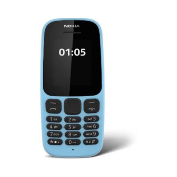 Nokia 105 Ds (Blue)