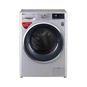 LG 9 kg Inverter Wi-Fi Fully-Automatic Front Loading Washing Machine (FHT1409SWL, Luxury Silver, Inbuilt Heater)