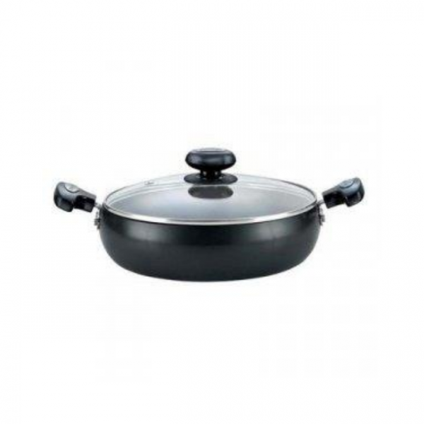 Prestige  Hard Anodised Plus Saute Pan With Lid