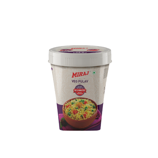 Miraj Ready To Cook Veg Pulao (Pack of 5)