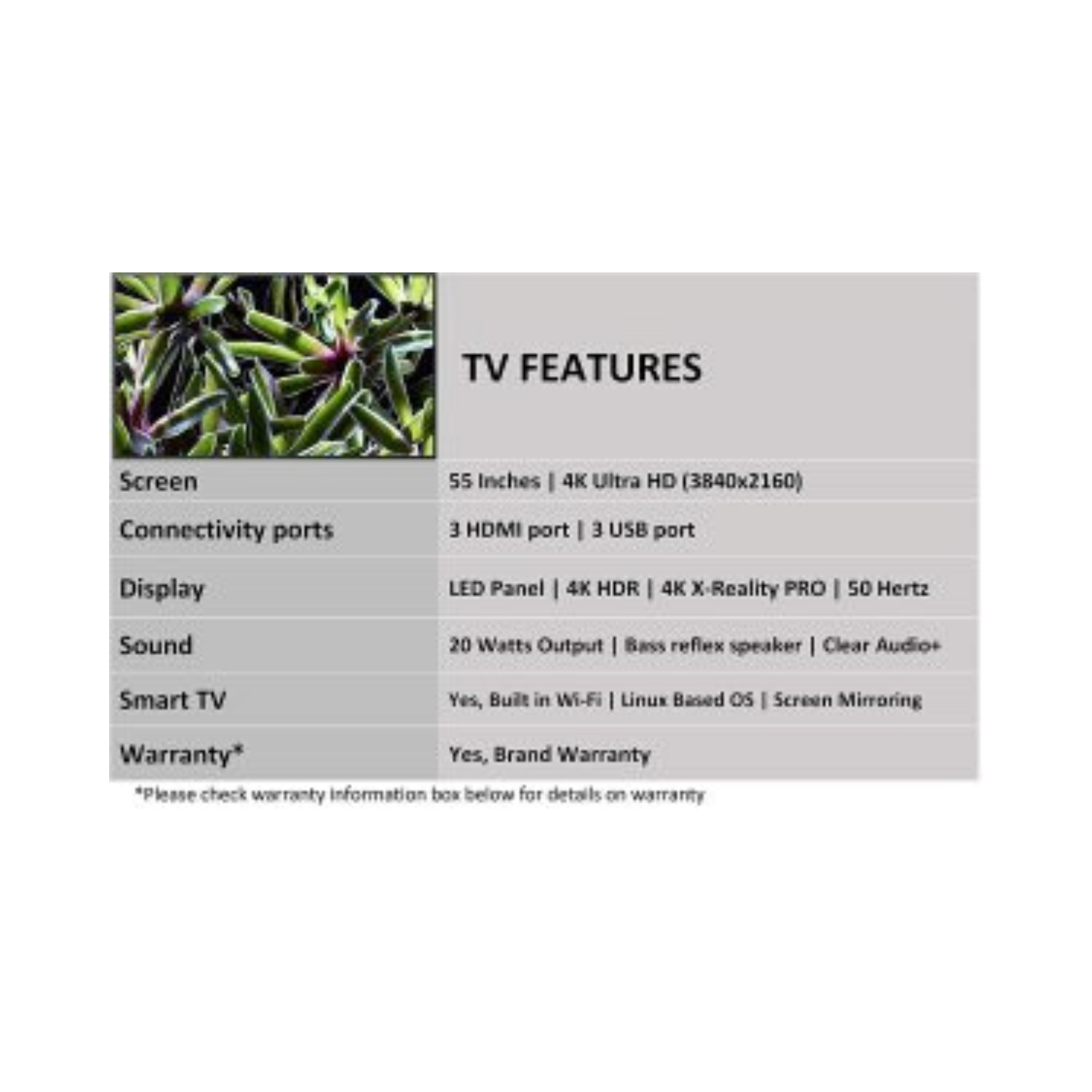 Sony Bravia 138 cm (55 inches) 4K Ultra HD Smart LED TV KD-55X7002G Black Sony Bravia 4K