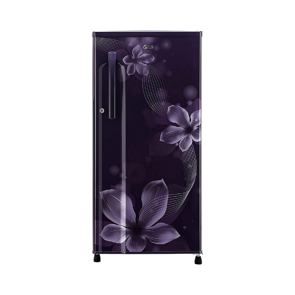 LG 188 L 4 Star Inverter Direct-Cool Single Door Refrigerator (GL-B191KPOX, Purple Orchid)