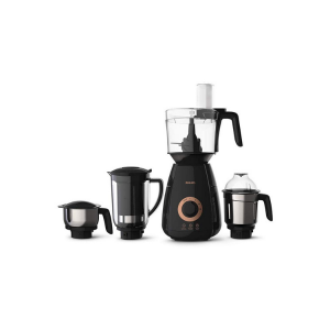Philips HL7707/00 Mixer Grinder, 750W, 4 Jars (Black)