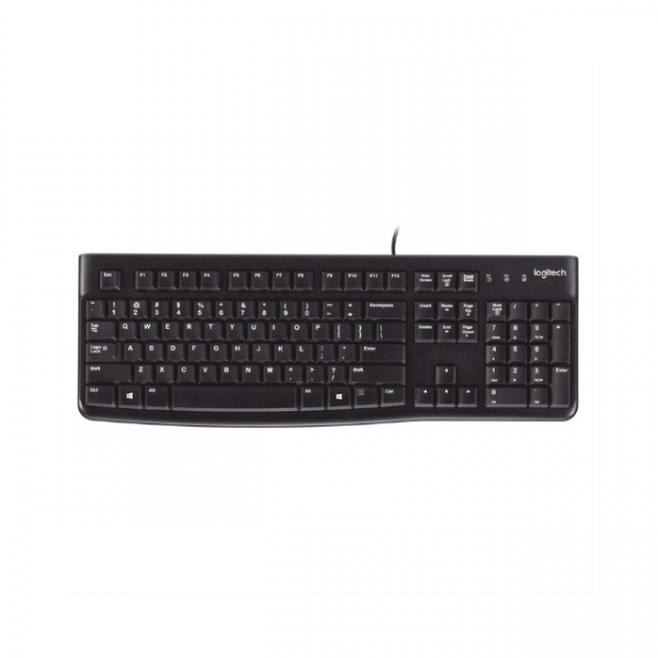 Logitech K120 Plug and Play USB Corded Keyboard