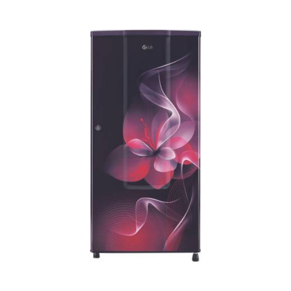 LG 185 L Direct Cool Single Door 2 Star (2020) Refrigerator  (Purple Dazzle, GL-B181RPDC)