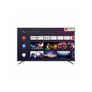 TCL 125.7 cm (50 inches) 4K Ultra HD Smart Certified Android LED TV 50P8E (Black)