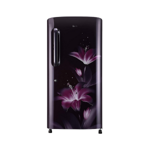 LG 215 L 4 Star Inverter Direct Cool Single Door Refrigerator (GL-B221APGY, Purple Glow)