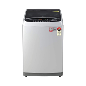 LG 8.0 Kg Inverter Fully-Automatic Top Loading Washing Machine (T80SJFS1Z, Free Silver)